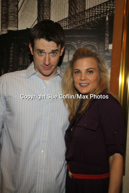 Tom Degnan, Gina Tognoni at The One Life To Live Lucheon at the Hemsley Hotel in New York City, New York on October 9, 2010. (Photo by Sue Coflin/Max Photos)