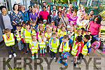 All the young students of St. Bridgets Community Centre, Hawley Park, ready for their walk to their picnic in the park on Tuesday