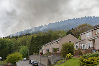 2019 05 17 Aftermath of the fire in Kilvey Hill, Swansea, UK