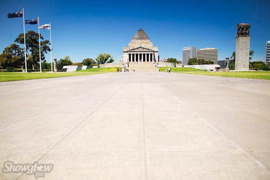 Image Ref: M261<br /> Location: The Shrine War Memorial<br /> Date: 03.02.17