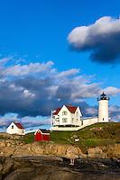 Nubble Lighthouse, Cape Neddick, York, Maine,  USA