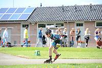 INLINE-SKATEN: WOLVEGA: 04-06-2017, NK Inline-skaten, Marijke Groenwoud, 6x goud, 1x zilver, ©Foto Martin de Jong