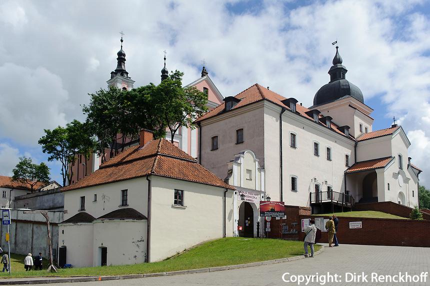 Barock-Kirche des Kamaldulen-Kloster von Wigry, Woiwodschaft Podlachien (Wojew&oacute;dztwo podlaskie), Polen, Europa<br /> Baroque church of the Camaldolese monastery in Wigry, Poland, Europe