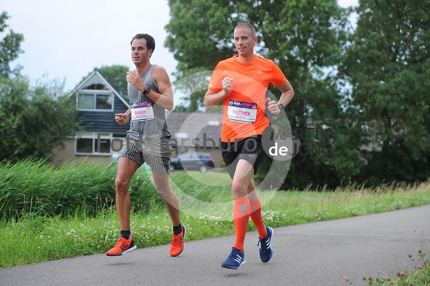 ATLETIEK: SNEEK: 24-06-2017, Mar-athon, winnaar Jan Venhuizen, ©foto Martin de Jong