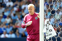 Kansas City goalkeeper Jimy Nielsen... Sporting Kansas City defetaed San Jose Earthquakes 2-1 at LIVESTRONG Sporting Park, Kansas City, Kansas.