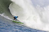 Nathan Fletcher. Mavericks Surf Contest in Half Moon Bay, California on February 13th, 2010.