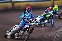 Brady Kurtz of Poole Pirates during Poole Pirates vs Belle Vue Aces, Elite League Speedway at The Stadium on 11th April 2018