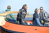 ZEILEN: LANGWEER: 18-05-205, zo'n 40 IFKS Skûtsjes en het Langweerder SKS Skûtsje, ©foto Martin de Jong
