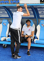 David Abraham (Eintracht Frankfurt), Lucas Torro (Eintracht Frankfurt) - 22.08.2019: Racing Straßburg vs. Eintracht Frankfurt, UEFA Europa League, Qualifikation, Commerzbank Arena<br /> DISCLAIMER: DFL regulations prohibit any use of photographs as image sequences and/or quasi-video.