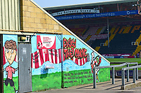A general view of Sincil Bank, home of Lincoln City FC<br /> <br /> Photographer Andrew Vaughan/CameraSport<br /> <br /> The EFL Sky Bet League Two - Lincoln City v Tranmere Rovers - Monday 22nd April 2019 - Sincil Bank - Lincoln<br /> <br /> World Copyright © 2019 CameraSport. All rights reserved. 43 Linden Ave. Countesthorpe. Leicester. England. LE8 5PG - Tel: +44 (0) 116 277 4147 - admin@camerasport.com - www.camerasport.com