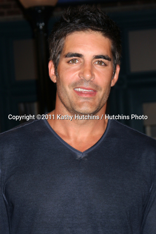 LOS ANGELES - AUG 10:  Galen Gering at the Horton Square Press Junket at the Days of Our Lives Set - NBC on August 10, 2011 in Burbank, CA