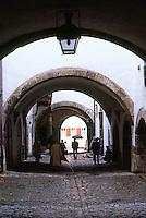 Rothenburg: 19th century Town Hall. Vaulting design.