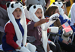 Max Gunkel, left, and Jaden Earle, both 9, watch the Nevada Day parade in Carson City, Nev. on Saturday, Oct. 27, 2012. .Photo by Cathleen Allison