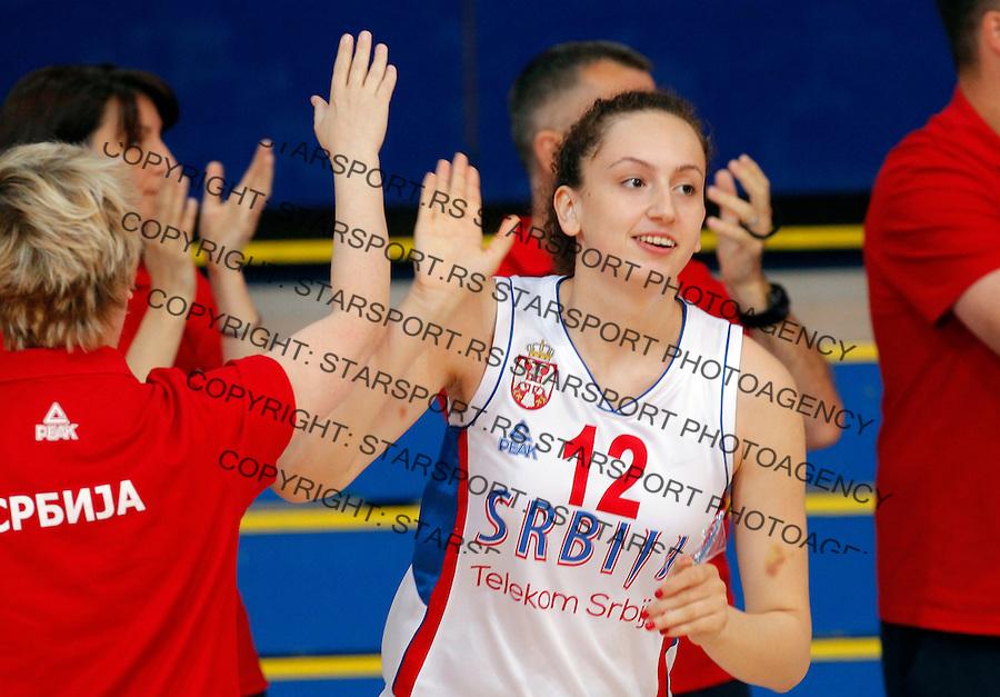 Aleksandra Crvendakic prijateljska, friendly, Srbija - Kina, Serbia - China, women basketball national team Maj 29. 2015. Beograd, Srbija,  (credit image & photo: Pedja Milosavljevic / STARSPORT)