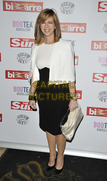 LONDON, ENGLAND - MARCH 02: Kate Garraway attends the Sun's Bizarre column 1st annual party, Steam &amp; Rye bar &amp; restaurant, Leadenhall St., on Monday March 02, 2015 in London, England, UK. <br /> CAP/CAN<br /> &copy;CAN/Capital Pictures