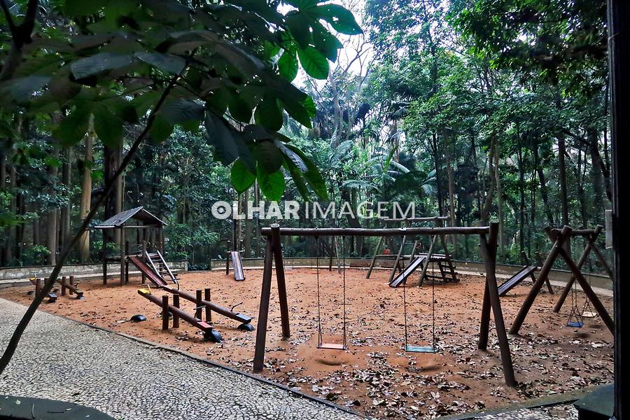 Play Ground no Parque Trianon, avenida Paulista, Sao Paulo. 2019. Foto Juca Martins.