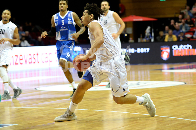GRONINGEN - Basketbal, Donar - Landstede Zwolle, Supercup seizoen 2017-2018, 05-10-2017, Donar speler Sean Cunningham