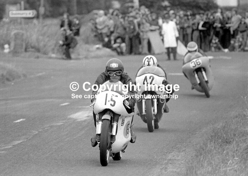 Ulster Grand Prix - 1973 - 197308180571BB. Can you identify the riders in this photo? If you can please get in touch.<br />