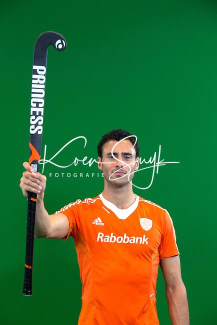 DEN BOSCH - GLENN SCHUURMAN  . Nederlands Hockeyteam  voor nieuwe platform Hockey.nl.    FOTO KOEN SUYK