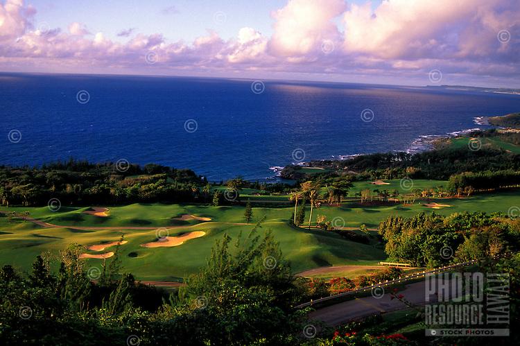 Full view of the Mangilao golf club designed by Nelson & Haworth, Guam