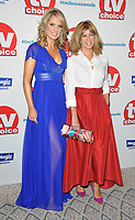 Charlotte Hawkins and Kate Garraway at the TV Choice Awards 2018, The Dorchester Hotel, Park Lane, London, England, UK, on Monday 10 September 2018.<br /> CAP/CAN<br /> &copy;CAN/Capital Pictures