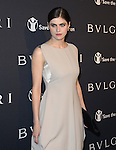 Alexandra Daddario attends Pre-Oscar Bulgari and Save the Children to launch STOP.THINK.GIVE held at Spago in Beverly Hills, California on February 17,2015                                                                               © 2015 Hollywood Press Agency