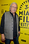 MIAMI BEACH, FL - MARCH 09: Actor/Producer/Director Edward James Olmos attends the Miami Dade College's: Miami Film Festival for 'Monday Nights At Seven' at O Cinema Miami Beach on March 9, 2017 in Miami, Florida. ( Photo by Johnny Louis / jlnphotography.com )