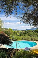 SW- Auberge Du Soleil Resort Auberge Spa Courtyard & Pools, Rutherford Napa Valley CA 5 15