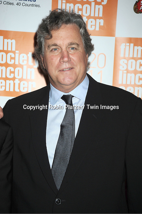 """Tom Bernard attends the 49th Annual New York Film Festival Opening Night Gala presentation of """"Carnage"""" on September 30, 2011 at Alice Tully Hall in New York City."""