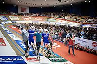 winners Jasper De Buyst (BEL/Topsport Vlaanderen-Baloise) &amp; Kenny De Ketele (BEL/Topsport Vlaanderen-Baloise) <br /> <br /> Gent 6 - day 4