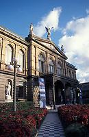 The Teatro Nacional or National Theatre on the Plaza de la Cultura in downtown San Jose, Costa Rica