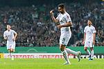 10.08.2019, wohninvest WESERSTADION, Bremen, GER, DFB-Pokal, 1. Runde, SV Atlas Delmenhorst vs SV Werder Bremen<br /> <br /> im Bild<br /> Jubel 1:6, <br /> Claudio Pizarro (Werder Bremen #14) bejubelt seinen zweiten Treffer in der Partie, <br /> <br /> während DFB-Pokal Spiel zwischen SV Atlas Delmenhorst und SV Werder Bremen im wohninvest WESERSTADION, <br /> <br /> Foto © nordphoto / Ewert