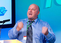 Bob Crow-General secretary of the National union of rail Maritine and Transport workers