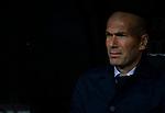 Real Madrid CF's Zinedine Zidane during La Liga match. Mar 01, 2020. (ALTERPHOTOS/Manu R.B.)