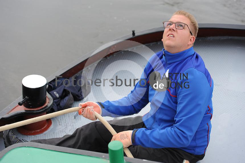 SKÛTSJESILEN: TERHERNE: 18-05- 2016, SKS Gerben van Manen, ©foto Martin de Jong