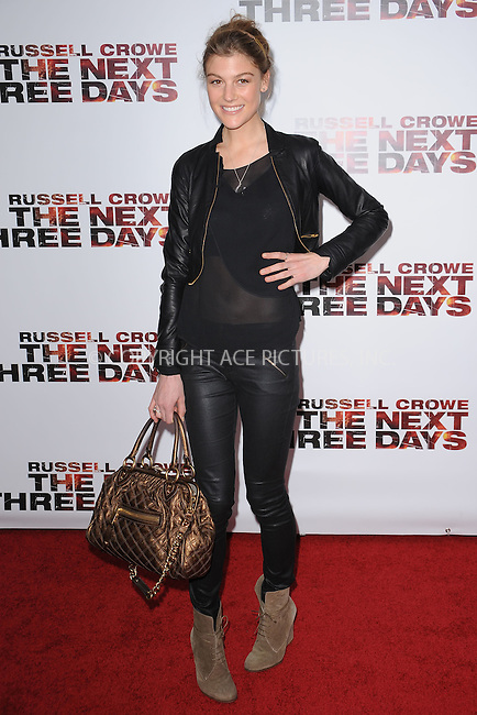 WWW.ACEPIXS.COM . . . . . .November 9, 2010...New York City...attends New York Special Screening of Lionsgate's New Film The Next Three Days at the Ziegfeld Theater on November 9, 2010 in New York City....Please byline: KRISTIN CALLAHAN - ACEPIXS.COM.. . . . . . ..Ace Pictures, Inc: ..tel: (212) 243 8787 or (646) 769 0430..e-mail: info@acepixs.com..web: http://www.acepixs.com .
