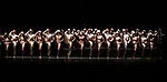 """The Cast featuring Tony Yazbeck, Jenna Nicole Schoen, Anthony Wayne, Robyn Hurder, Jay Armstrong-Johnson and Melanie Moore with cast during Curtain Call for the New York City Center Celebrates 75 Years with a Gala Performance of """"A Chorus Line"""" at the City Center on November 14, 2018 in New York City."""