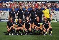 Washington Freedom starting XI. The Skyblue FC defeated the Washington Freedom 2-1 in first round of WPS playoffs at the Maryland Soccerplex, Saturday, August 15, 2009.