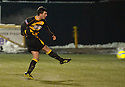 04/12/2010   Copyright  Pic : James Stewart.sct_jsp018_allao_v_peterhead  .:: KEVIN MCDONALD SCORES ALLOA'S SECOND FROM THE SPOT ::.James Stewart Photography 19 Carronlea Drive, Falkirk. FK2 8DN      Vat Reg No. 607 6932 25.Telephone      : +44 (0)1324 570291 .Mobile              : +44 (0)7721 416997.E-mail  :  jim@jspa.co.uk.If you require further information then contact Jim Stewart on any of the numbers above.........