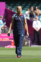 Rachel Brown of GB soaks up the atmosphere before the game - Great Britain Women vs New Zealand Women - Womens Olympic Football Tournament London 2012 Group E at the Millenium Stadium, Cardiff, Wales - 25/07/12 - MANDATORY CREDIT: Gavin Ellis/SHEKICKS/TGSPHOTO - Self billing applies where appropriate - 0845 094 6026 - contact@tgsphoto.co.uk - NO UNPAID USE.
