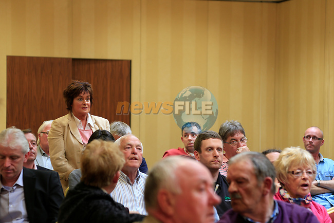 The meeting in the west court hotel in relation to the Soup Kitchen at Sundays Gate<br /> Picture:  www.newsfile.ie