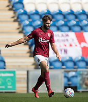 Jordan Turnbull of Northampton Town in action during Colchester United vs Northampton Town, Sky Bet EFL League 2 Football at the JobServe Community Stadium on 24th August 2019