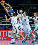 Kosta Perovic during quarterfinal basketball game between Greece and Serbia in Kaunas, Lithuania, Eurobasket 2011, Friday, September 16, 2011. (photo: Pedja Milosavljevic)