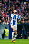 Leonado Carrilho Baptistao, Leo Baptistao, of RCD Espanyol runs with the ball during the La Liga 2018-19 match between Atletico de Madrid and RCD Espanyol at Wanda Metropolitano on December 22 2018 in Madrid, Spain. Photo by Diego Souto / Power Sport Images