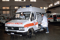 Ambulanze. Ambulances....