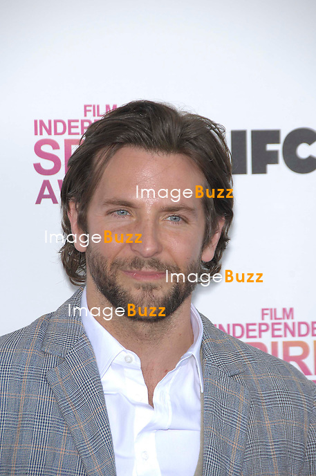 Bradley Cooper during the 2013 FILM INDEPENDENT SPIRIT AWARDS, held at the beach at Santa Monica, on February 23, 2013, in Santa Monica, California.