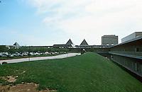 Columbia:  Town Center--exterior view.  Photo '85.