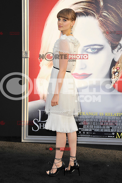 Bella Heathcote at the premiere of Warner Bros. Pictures' 'Dark Shadows' at Grauman's Chinese Theatre on May 7, 2012 in Hollywood, California. ©mpi35/MediaPunch Inc.