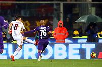 gol Diego Perotti Goal Celebration<br /> <br /> Firenze 05-11-2017 Stadio Artemio Franchi Calcio Serie A 2017/2018 Fiorentina - AS Roma Foto Filippo Rubin / Insidefoto