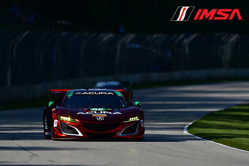 IMSA WeatherTech SportsCar Championship<br /> Continental Tire Road Race Showcase<br /> Road America, Elkhart Lake, WI USA<br /> Saturday 5 August 2017<br /> 86, Acura, Acura NSX, GTD, Oswaldo Negri Jr., Jeff Segal<br /> World Copyright: Peter Burke<br /> LAT Images